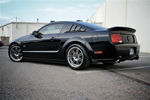 Mustang SVE Anniversary Wheel Kit - 18X9 Anthracite (05-14)