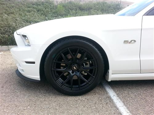 Mustang SVE  Drift Wheel- 19X9.5 Flat Black (05-14)