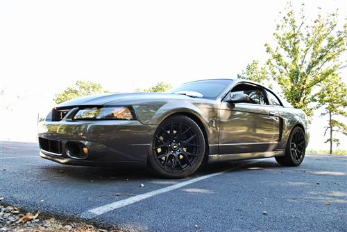 Mustang SVE Drift Wheel - 18x10 Flat Black (94-04)