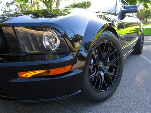 Mustang SVE  Drift Wheel- 18X9 Flat Black (05-14)