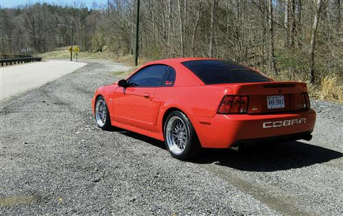 Mustang SVE Series 1 Wheel Kit  Anthracite (94-04)