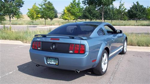Mustang SVE Decklid Trunk Panel (05-09)
