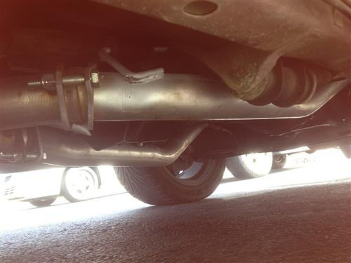 "Mustang SVE 2.5"" Off Road H-Pipe (86-93)"