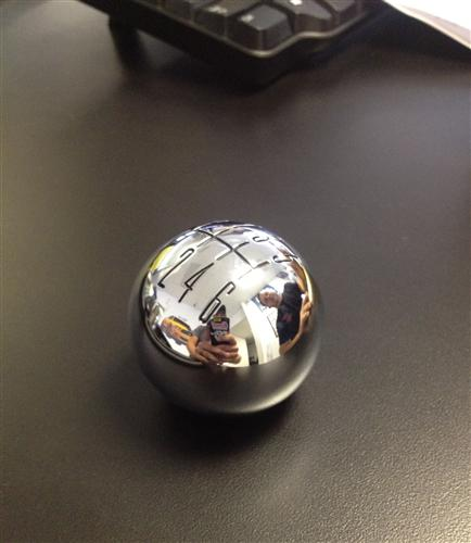 Mustang SVE 6 Speed Shift Knob Chrome (11-14)