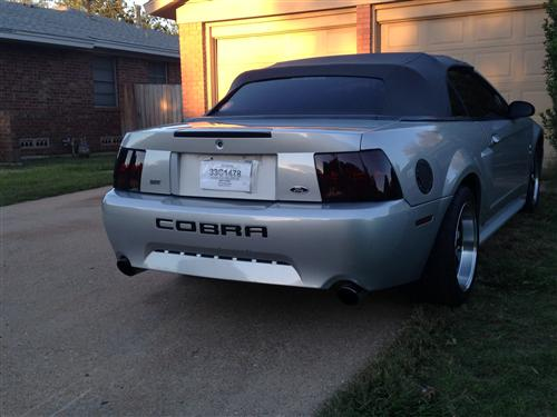 Mustang SVE Smoked Tail Light Tint (99-04)