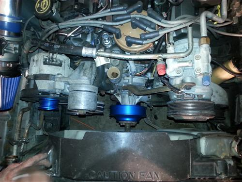 Mustang SVE Engine Performance Pack Blue (89-93) 5.0