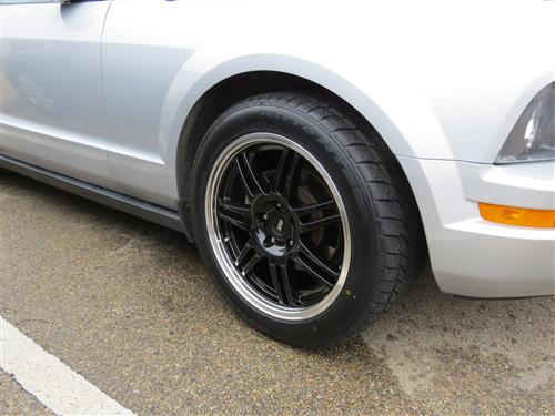 Mustang SVE Anniversary Wheel & Nitto Tire Kit- 18X9 Black (05-14)