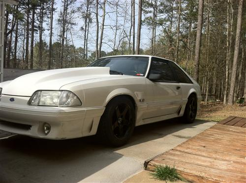 Mustang 03 Cobra Wheel & Nitto Tire Kit - 17x9 Black (79-93)