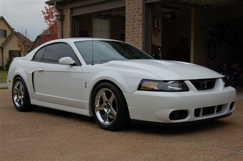 Mustang 03 Cobra Wheel & Nitto Tire Kit - 17x9/10.5 Chrome (94-04)